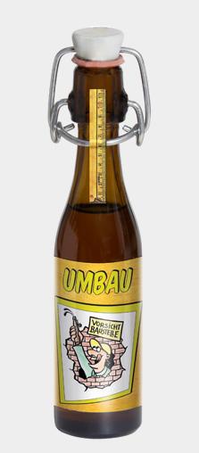"""VORSICHT BAUSTELLE - Motiv: """"UMBAU"""""""