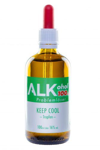 "ALKohol - 100ml Problemlöser Anwendung: ""KEEP COOL"""