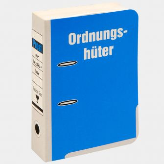 "Mini-Aktenordner ""Ordnungshüter"""