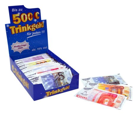Trinkgeld® - 24er-Display