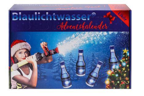 """Blaulichtwasser® Adventskalender Motiv:""""Schneegestöber"""""""