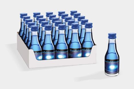 Blaulichtwasser® 20/16 - 25er-Tray