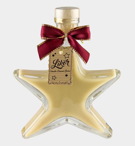 Stern - Vanille-Caramel-Sahne
