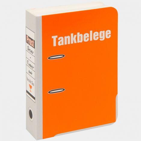 """Mini-Aktenordner """"Tankbelege"""""""