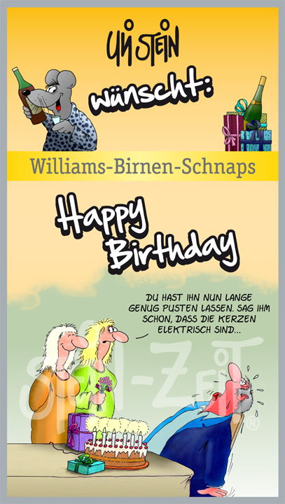 Stein Zeit Uli Stein Wünscht Happy Birthday