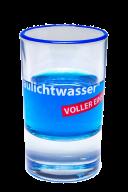 Blaulichtwasser®  Shot-Glas