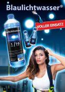 "Blaulichtwasser® - Plakat: ""FIRE-GIRL"""